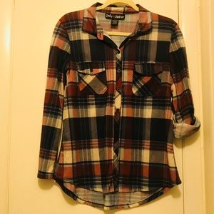 Cute Lightweight Flannel Top
